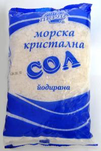 Морска кристална сол йодирана 1 кг