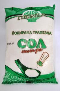 Трапезна йодирана сол Перла 1 кг.